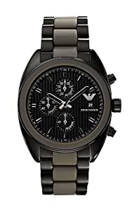 Emporio Armani AR5953 - Reloj para hombres, correa de acero inoxidable color gris
