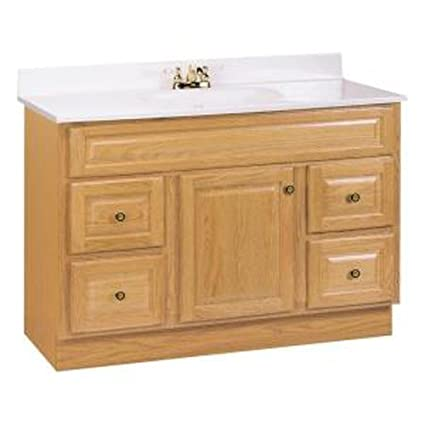 Ordinaire American Classics By RSI HOA48DY Hampton 48 Inch Vanity Cabinet Only, Oak