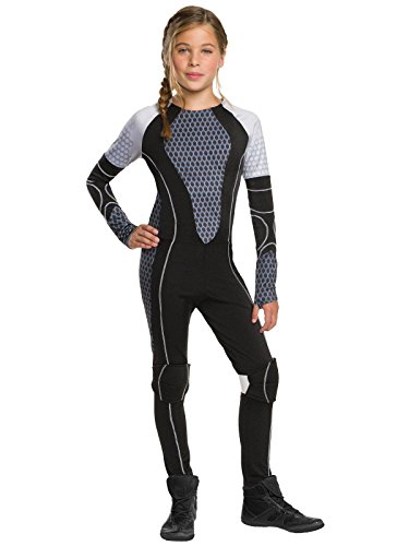 Rubie's Costume The Games Catching Fire The Hunger Games Katniss Costume, Small, One Color]()