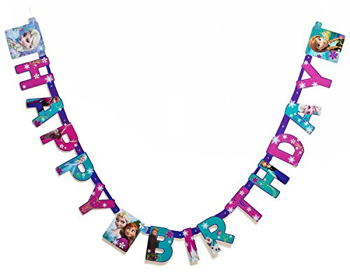 Frozen Birthday Party Banner, Party Supplies for $<!--$3.99-->