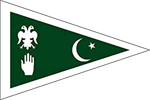 magFlags XL Flag State of Dir   A simplified flag of the historical Pakistani state of Dir   landscape flag   2.16m²   23sqft   120x180cm   4x6ft - 100% Made in Germany - long lasting outdo