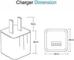Amazon.com: iPhone cargador, pantom cargadores de pared y ...
