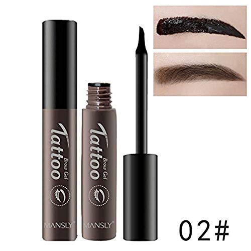 Brand Easy to Wear Pigment Henna Eyebrow Tint Gel Waterproof Peel Off Eye Brow Tattoo Makeup Eyebrow