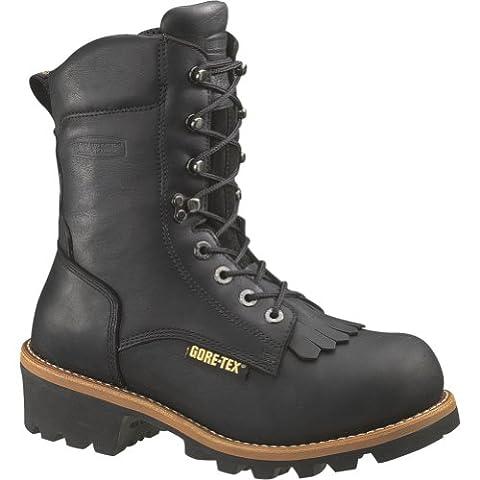 W05635 Wolverine GORE-TEX Men's Work Loggers - Black - 11.0 - EW - Gore Tex Slip