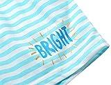 Summer Pajamas for Girls – Blue Stripe
