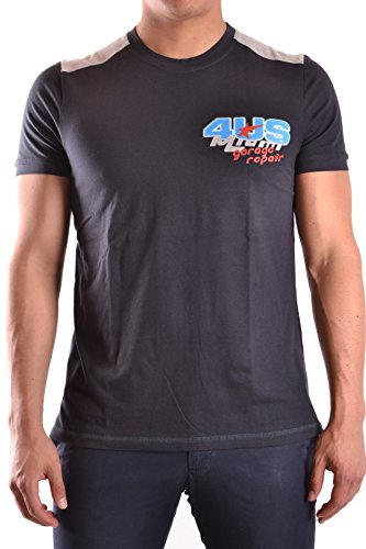 Cesare Paciotti Men's Mcbi068005o Blue Cotton T-Shirt