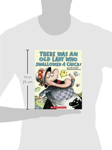 There Was An Old Lady Who Swallowed A Chick (Turtleback School & Library Binding Edition)