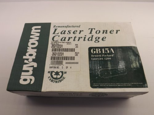 Guy Brown, HP Hewlett Packard 35312231, GB15A Laser Toner Cartridge T37108