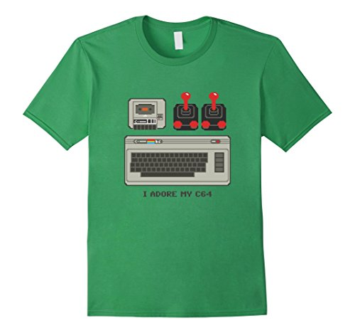 Men's or Women's  I Adore my C64 T-shirt in 5 colors