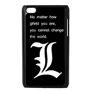 iPod Touch 4 Phone Case Black Death Note HKL231183