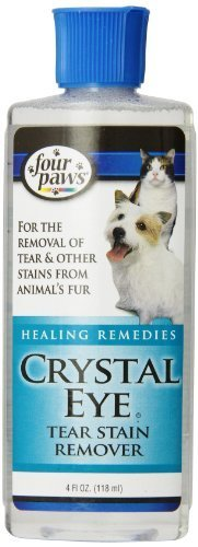 Four Paws Crystal Eye Dog Grooming Tear Stain Remover, 4 oz by Four Paws