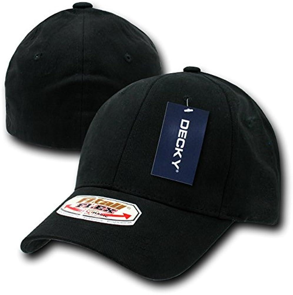 Decky Fit All Flex - Gorra para Hombre, Color Negro, Talla L/XL ...
