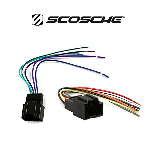 Chevrolet 2007-2013 Silverado (Does NOT FIT 2007 Classic OR Older Body Styles) CAR Stereo Dash Install MOUNTING KIT Wire Harness Radio Antenna by American International , Metra, Scosche (Image #2)