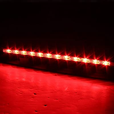 AKKON for Ford Mustang LED Replacement 3rd Brake Tail Light Rear Third Trunk Cargo Stop Lamp: Automotive
