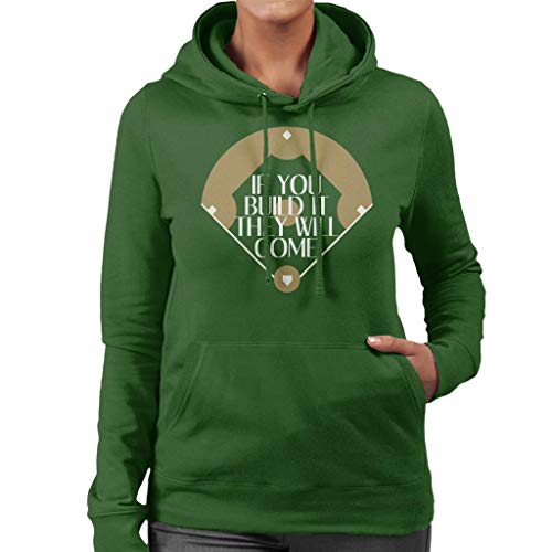 Women's They Sweatshirt Hooded Dreams City Come It Cloud Build Green Field 7 If Bottle You Will Of YwnU67q