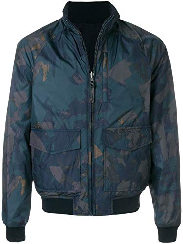 Blu Wocps2667pt4030008 Poliestere Giacca Woolrich Uomo Outerwear fwtXnUq