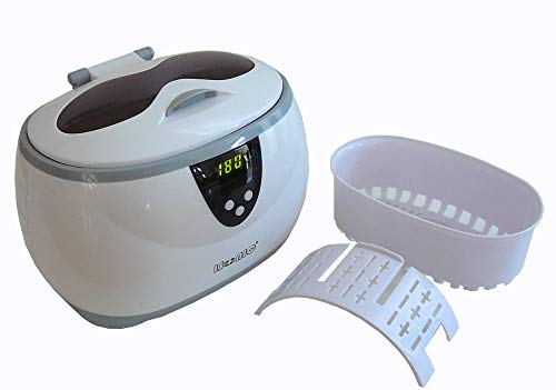 iSonic D3800A Digital Ultrasonic for Jewelry, Eyeglass, and Dentures Cleaner, 110V ()