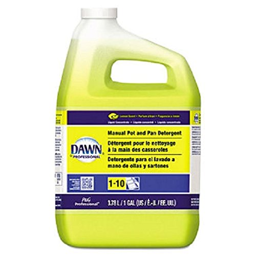 Dawn Professional 57444CT Manual Pot & Pan Dish Detergent Lemon 4/Carton