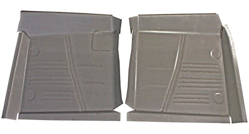 - Motor City Sheet Metal - Works With 1961 1962 1963 1964 CHEVROLET IMPALA BEL AIR FRONT FLOOR PANS NEW PAIR!!
