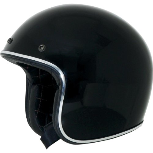 AFX FX-76 Open Face Helmet Black Chrome XXXL/XXX-Large