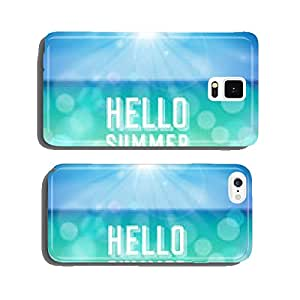 Summer holiday tropical beach background cell phone cover case Samsung S5