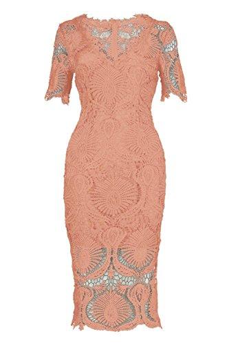 emma blush dress - 9