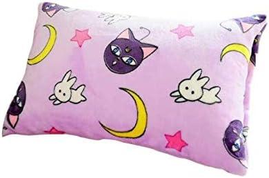 Sailor Moon navy white warm blanket Throws quilt blanket bed 150x120cm