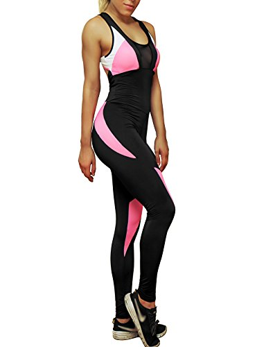 Fittoo Halloween Bodysuit for Women Yoga Catsuit One ...