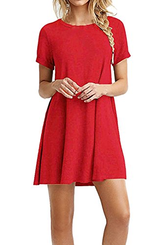 Carprinass Robe Red Red Carprinass Red Femme Robe Carprinass Femme Femme Robe rqOURxr