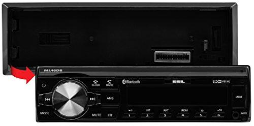 Sound Storm ML46DB Car Receiver - Bluetooth/MP3/USB, FM Radio ONLY (No AM), (No CD/DVD) by Sound Storm Laboratories (Image #1)