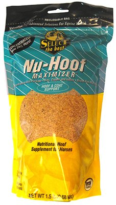 Nu-Hoof Maximizer Hoof & Coat Support for Horses by Select The Best