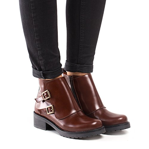 Brown Women's Boots Vegan Tessa NAE nxTvqIW