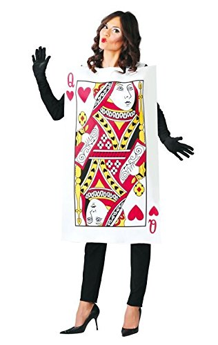 Garanzia di soddisfazione al 100% sito autorizzato ultimi progetti diversificati Costume carnevale carta regina di cuori travestimento alice ...