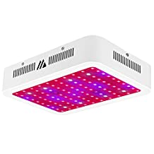 LED Grow Light, Dimgogo 1000W 100LEDs Triple Chips Full Spectrum Growing Lamp with UV&IR for Garden Greenhouse Hydroponic Indoor Plants Veg and Flower(10W/Led)