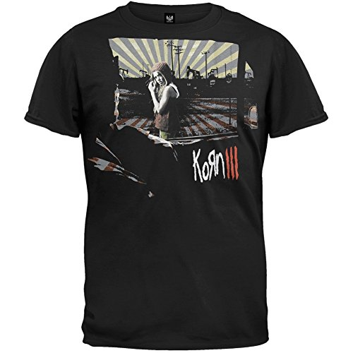 Korn - Mens Miss Sunshine 2010 Tour T-shirt Large (2010 T-shirt)