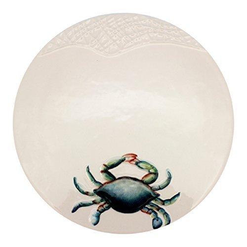 Ceramic Blue Crab Trivet by Beachcombers