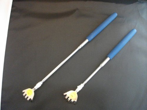Metal Back Scratcher with Cushion Grip 2 Pk by DV by Dolce Vita ()