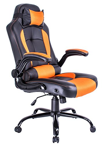 Aminiture High Back Adjustable Reclining Chair Gaming Racing