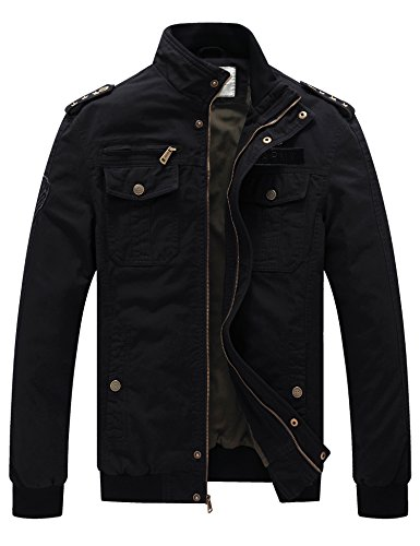 Casual Cotton Jackets - 4