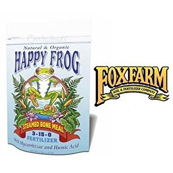 - FoxFarm Happy Frog Steamed Bone Meal Fertilizer - 4 Pounds