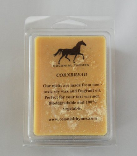Cornbread Scented~Clamshell Soy Wax ()