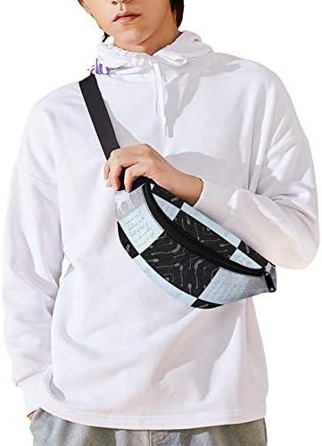 常にキルトミント ウエストバッグ ショルダーバッグチェストバッグ ヒップバッグ 多機能 防水 軽量 スポーツアウトドアクロスボディバッグユニセックスピクニック小旅行