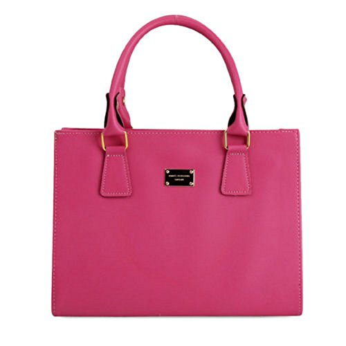 New Fashion Women Handbag Tote Purse Shoulder Bag Messenger Hobo Bag Satchel Pink