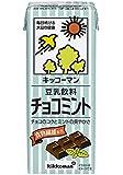 キッコーマン 豆乳飲料 チョコミント 200ml紙パック×18本入×(2ケース)
