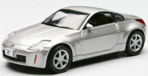 - 1/64 Fairlady Z (Z33) Coupe (silver metallic) K06005S (japan import) by Kyosho