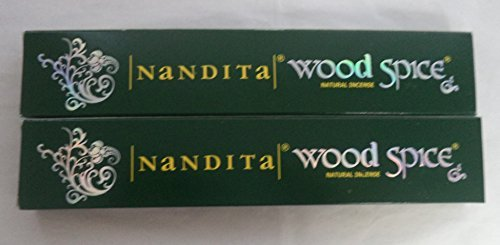 Wood Spice Stick - Nandita Wood Spice Incense Sticks: 2 x 15 Gram Boxes