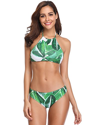 Halter Neck Bikini Set in Australia - 9
