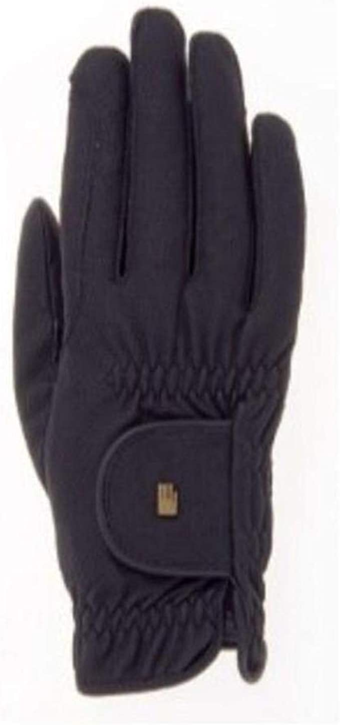 Roeckl Winter Windstopper Roeckgrip Gloves Winchester Size 6 Black Brand New