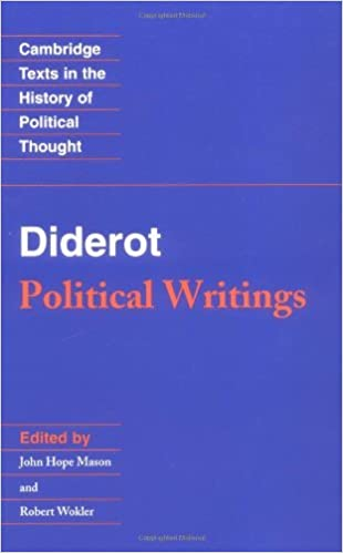 Diderot: Political Writings (Cambridge Texts in the History of Political Thought) by John Hope Mason (2009-03-09)