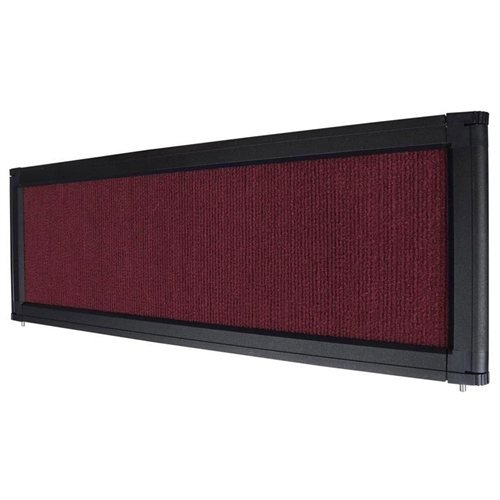 Burgundy Header for Tabletop Folding Display Panel Board Jacoble 135-PAN004-1-02